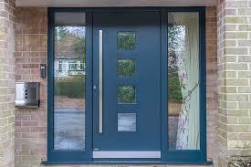 internorm kf200 upvc aluminium tilt and turn windows ks430 sliding doors and contemporary front door east grinstead sus