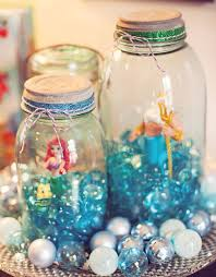diy mermaid crafts ariel themed little mermaid birthday party how to make room decorations