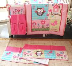 owl crib bedding girl me pink girl crib bedding embroidery owl bird erfly tree house bedding owl crib bedding