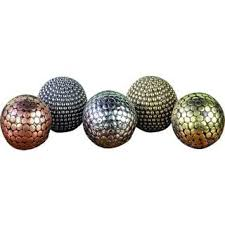 Decorative Metal Balls Gold And Silver BrassPlastic Decorative Balls Set Of 100 Free 21