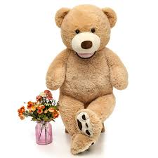 Big Light Brown Teddy Bear Maogolan Giant Teddy Bears Large Plush Stuffed Animals Toy