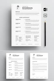 Jessica Richardson Clean Resume Template 73813