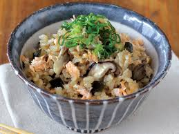 from mr mrs igarashi s modern kitchen shoyu koji recipes rice seasoned shoyu koji salmon and mushrooms