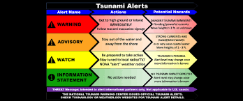 Geological survey says the quake struck at about 1:32 a.m. Forecast Warning Noaa Tsunami