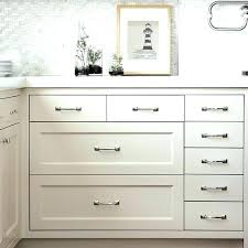 White Kitchen Drawer Pulls  Examples Delightful With Regard To58