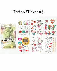 Readystock Shushu Kids Tattoo Sticker