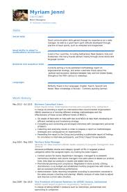 Business Resume Format Examples   Reentrycorps happytom co