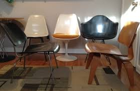 knoll eames chair. 4 Eames Chairs Together, W/ 1 Knoll Tulip Chair. Door In Photo Shows Chair H