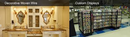 Design Decorative Cool Kent Design Decorative Woven Wire Custom Displays