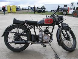 1947 excelsior with 125cc villiers
