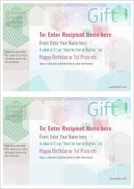 Gift Certificate Printable Free Free Printable Gift Certificate Template Designs For Home