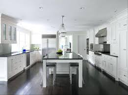 kitchen design with dark wood floors interior white kitchen cabinets dark wood floors design ideas with