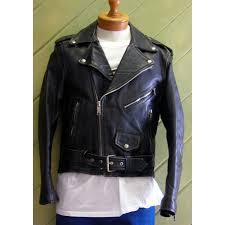 black hudson leather motorcycle jacket harley davidson wolf