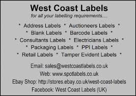 silver address label silver address returns labels personalised