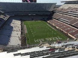 Tamu Football Seating Chart Kyle Field Section 418 Rateyourseats Com