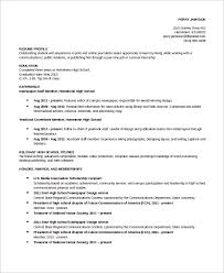high-school-academic-resume