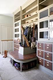 entryway storage bench Entry Traditional with bootroom built in bench.  Image by: Artichoke