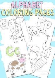 Alphabet Coloring Pages Free Gyerekpalotainfo