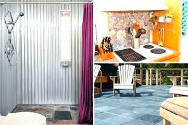 corrugated metal bathroom corrugated sheet metal bathroom home decorators corrugated sheet metal bathroom corrugated