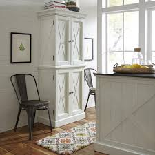 seaside lodge hand rubbed white kitchen pantry