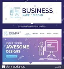 Logo Design Concept Presentation Beautiful Business Concept Brand Name Presentation