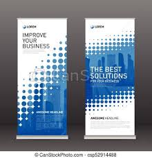 banner design template corporate roll up banner design template industrial roll up