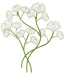 >amazon new creative gingko leaf outdoor safe metal wall art  new creative gingko leaf outdoor safe metal wall art
