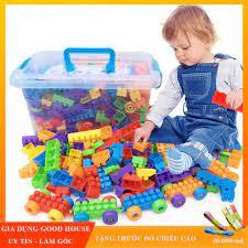 Đồ chơi xếp hình phát triển trí tuệ cho trẻ loại 100, 256, 520 chi tiết.  Lego xếp hình phát triển trí tuệ cho trẻ em. giá cạnh tranh