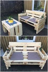 furniture made of pallets. Gartensofa Aus Paletten. Pallet Furniture Made Of Pallets