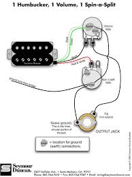 wiring diagrams guitar wiring wiring diagrams 1hum 1vol 1spinasplit wiring diagrams guitar 1hum 1vol 1spinasplit