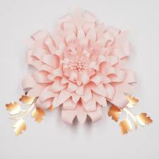 Hanging Paper Flower Backdrop 2019 Flower Leaves Giant Large Paper Flowers Backdrop Wall Deco