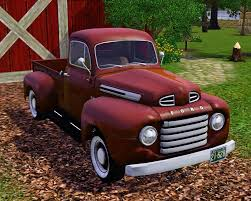 Mod The Sims - 1950 Ford F 1 Pick-Up Truck