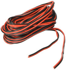 amazon com 20ga 25 red black hookup wire 12v dc automotive