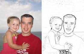 Small Picture Make Your Own Coloring Book with Family Photos How to Nest for Less