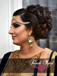 stani bengali arabic indian asian wedding bridal hair makeup