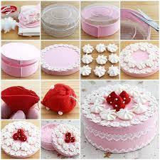 diy beautiful gift box decorated like a