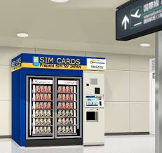 Kansai Airport Sim Card Vending Machine Unique NTT Communications To Launch Prepaid SIM Vending Machines For