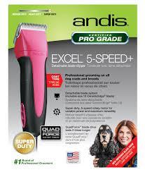 Машинки для стрижки <b>Andis</b> SMC EXEL 5-Speed+ Fuchsia для ...