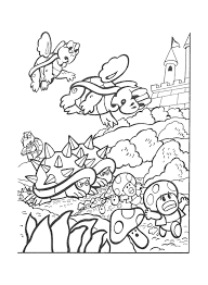 Small Picture Nintendo Coloring Pages Coloring Home