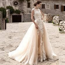 unique wedding dresses detachable train online unique wedding