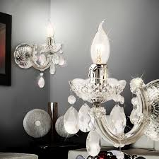crystal wall chandelier 1x40w classic transpa chandelier wall lamp wall lamp crystal chandelier