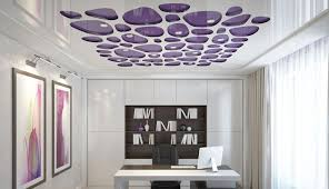 Office false ceiling Showroom Stretch False Ceiling For Modern Office Design 2018 Useful Tips On How To Choose Your Office Ceiling Design The Advantages That False Ceiling Designs With Flipboard 20 Office False Ceiling Design Ideas Materials Advantages