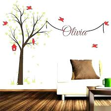 white tree wall decals decal large for nursery stickers birch