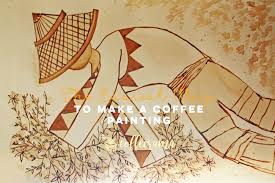 Choose a scene of people enjoying coffee together and hang it over your kitchen or dining room table. The Easiest Way To Make A Coffee Painting Coffeerama