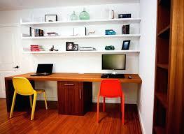 office desk shelves.  Desk Floating Office Desk Teak Waterfall Shelves Suite  Contemporary Home Australia On Office Desk Shelves
