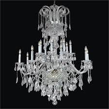 large crystal chandelier dynasty 557af38x48sp 3