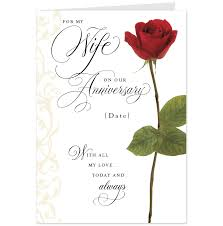Printable Wedding Anniversary Cards Beautiful Anniversary Cards For Her Design With Red Rose Flowers 23