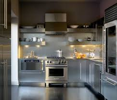 stainless steel decorative with range hood kitchen contemporary
