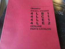 isuzu manuals books isuzu 4lb1 4lc1 4le1 4le2 diesel engine parts catalog manual
