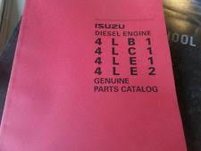 isuzu manuals books isuzu 4lb1 4lc1 4le1 4le2 diesel engine parts catalog manual